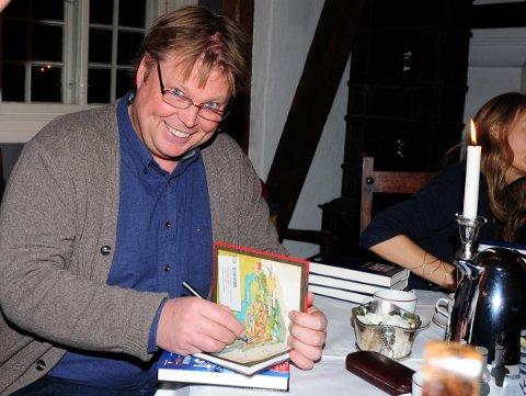 ANNO 2013: Da besøkte Jørn Lier Horst bygda som en av forfatterne på høstens bokmesse på Rotnes Bruk.
