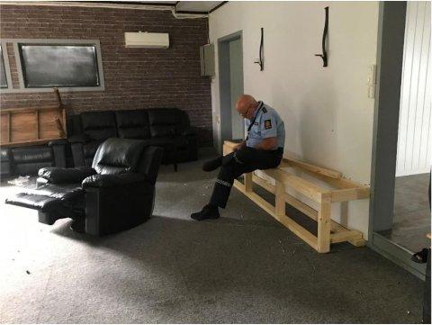 SLUTT: Politikontakt Svein Engen har arbeidet i flere måneder for å få vekk mc-klubben fra lokalområdet. Nå ser det ut til at han og kommunen har lyktes med det.