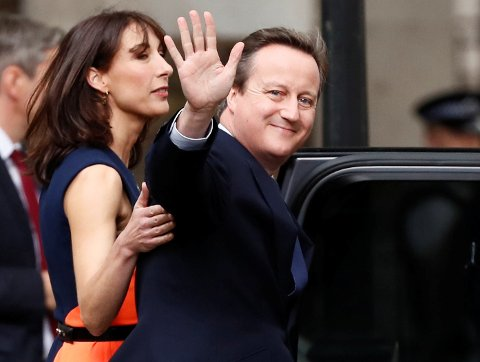 Tidligere statsminister David Cameron. Foto: Reuters / NTB scanpix