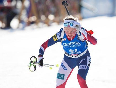 Hilde Fenne gikk inn til en 58.plass i VM- sprinten fredag. Det gir lite å håpe på for vossingen før søndagens jaktstart.