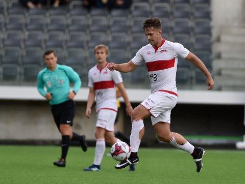 Joakim Helland er blant de nominerte til pris som årets spiller i 4. divisjon, når BA arrangerer Lokalfotballallaen 2019 2. november.