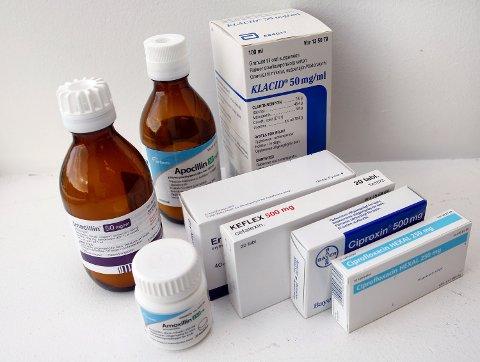 Bruken av antibiotika faller, men skal ytterligere ned. Foto: Gorm Kallestad / NTB SCANPIX