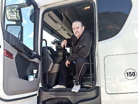 SINT: Thomas Schmidt, tysk lastebilsjåfør får ikke penger fra Nav lønnsgaranti etter at det norske selskapet han kjørte for gikk konkurs.