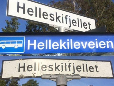 KLUSS: Statens vegvesen har ikke akkurat vært konsekvente i måten de skriver de to veinavnene i Onsøy på.