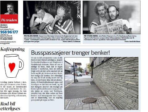 En gruppe pensjonister kom med et aldri så lite hjertesukk på Fredriksstad Blads bakside. Nå har kommunen tatt saken, og benker er på vei.
