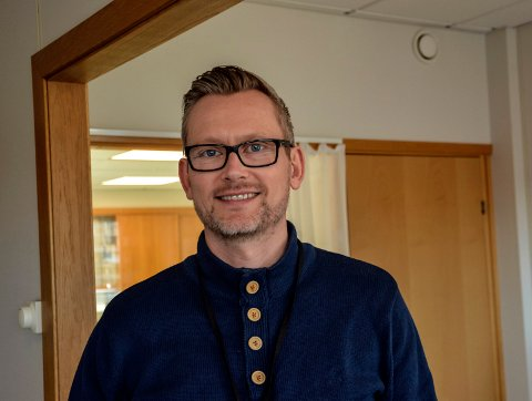 SKOLEMANN: Tommy Strøm Skjørberg gleder seg til å innta rektorstolen etter Terje Svanevik ved nyttår.