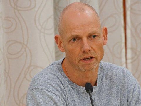 KARANTENE: Bjarne Oure mener at det i utgangspunktet får små konsekvenser for jobben hans at han sitter i karantene.