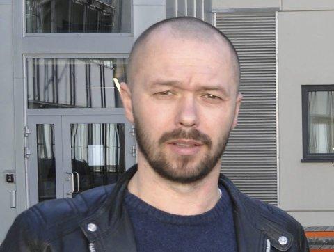 IRRITERT: Arved Sigmundstad er gruppeleder i Halden Arbeiderparti.