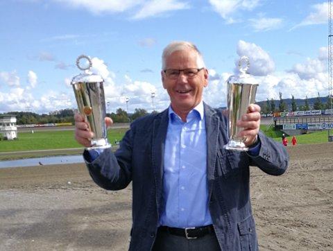ENDELIG: Sju hester har John I. Naustvik kvalifisert til Klasseløpshelgen på Bjerke. Søndag gikk Karmland Anna til topps.