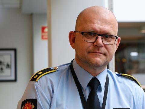 TRIST: Politiinspektør Jarle Utne-Reitan mener filmsaken blant russen er trist for alle involverte.