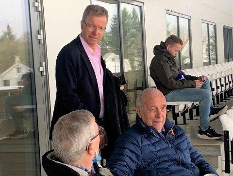 SIER JA, MEN...: Styreleder i FK Haugesund AS Ole Henrik Nesheim, her på FKHs årsmøte i april.