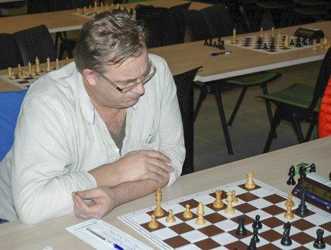 BEST: Håvar Akseth fikk beste plassering av Mosjøen-spillerne.