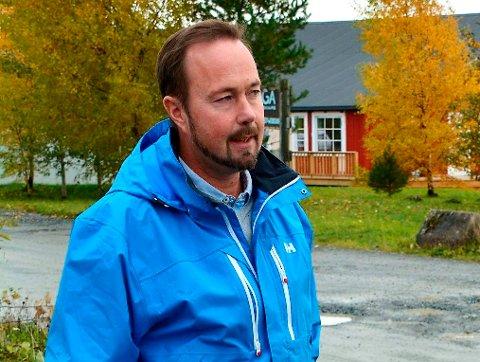 HJEMMEFRA: Geir Jostein Ørsjødal ønsker at kommunen skal legge til rette for at flere skal kunne jobbe hjemmefra.