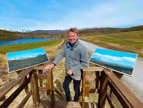 BESØK: Folkeaksjonen reiser i disse dager rundt på hele Helgeland for å få med seg ordførerne på laget. De har allerede vært innom blant annet Hattfjelldal og snakket ordfører Harald Lie.
