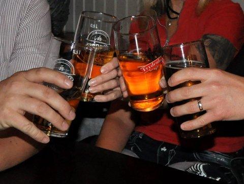 PÅ STELL: Alkoholloven ble fulgt da kontrollen fant sted.