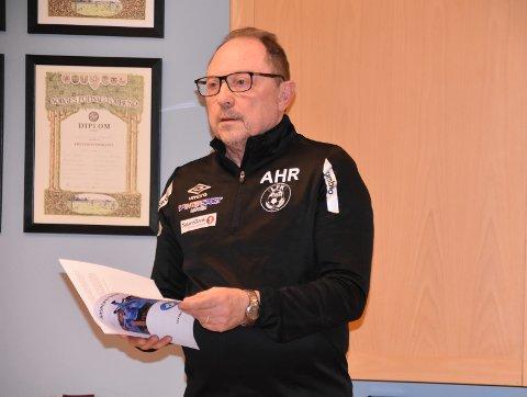 StyreLEDER: Arne Reiersen er styreleder i Leknes Fotballklubb.Arkivfoto: Eirik Eidissen