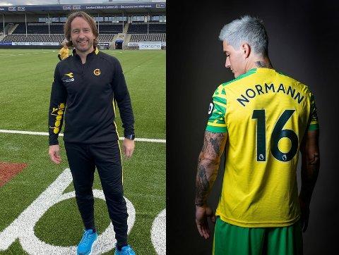 Bodø/Glimts trenerutvikler Stig Johansen håper å få sett mange Norwich-kamper med Mathias Normann på banen denne sesongen.