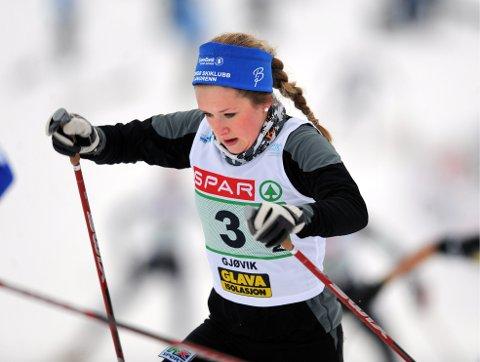 Anna Svendsen ble nunner to på sprinten i Skandinavisk Cup i Östersund.