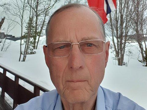 IKKE NOK: Tromsøværinger er dårligere til å flagge på frigjøringsdagen enn krigsrammede Narvik og Bodø, mener Rolleiv Lind.
