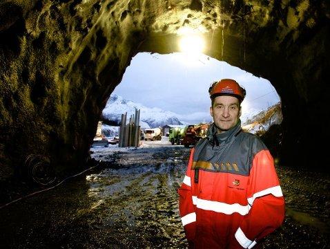 Gudmund Løvli er Statens Vegvesens prosjektleder.  Foto: Ola Solvang