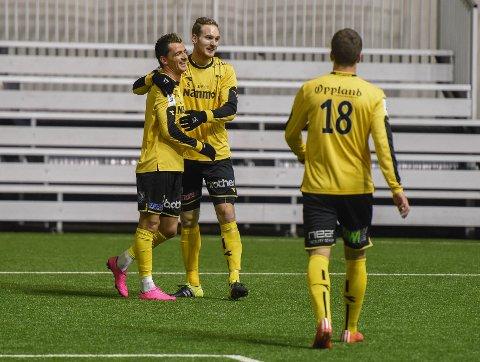 Raufoss vant 6-0 lørdag.