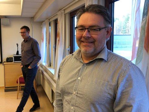 GÅR VIDERE: Leder i kontrollutvalget, Bård Axel Nilson, fikk utvalget med seg på å be Innlandet Revisjon se hvordan de kan komme til bunns i påstandene i brevet fra Hekne.