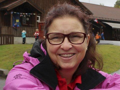 Stolt: Elin Aasheim er stolt av å være eier av Nystrand barnehage.