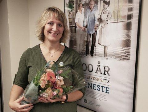 NYVALGT FYLKESLEDER: Lena Røsæg Olsen fra Rakkestad har gjort seg bemerket i nord. Nå er hun nyvalgt fylkesleder for Norsk Sykepleierforbunds avdeling i Troms og Finnmark.