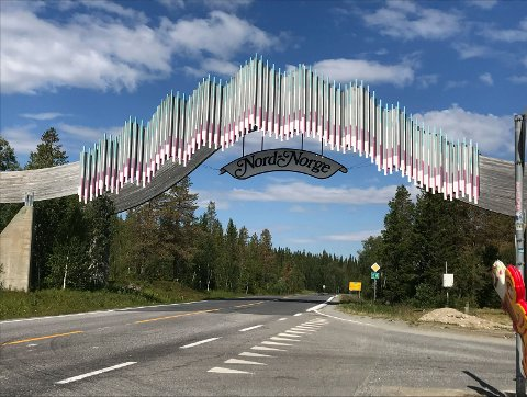 Porten til Nord-Norge slik den står nå.