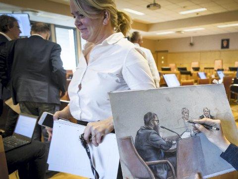 18 år: Påtalemyndigheten har lagt ned påstand om 18 års fengsel for Janne Jemtlands ektemann.Foto: Heiko Junge / NTB scanpix