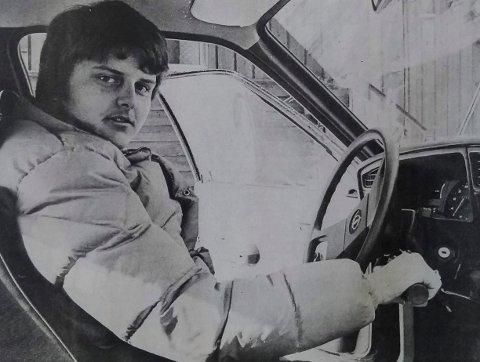 1983: Hvem er fotografert bak rattet for 36 år siden?