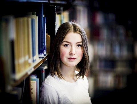 Tilbake i hverdagen: Rett etter at innspillingen av filmen var ferdig, begynte Andrea Berntzen på Romerike folkehøyskole. FOTO: LISBETH LUND ANDRESEN