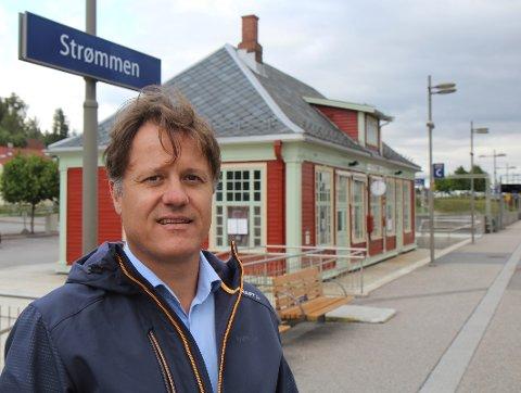 NYTT UTSEENDE: Vedlikeholdssjef Espen Skaarer Johansen er godt fornøyd med arbeidene som er utført på Strømmen.