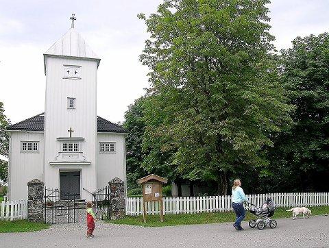 Slemmestad kirke.