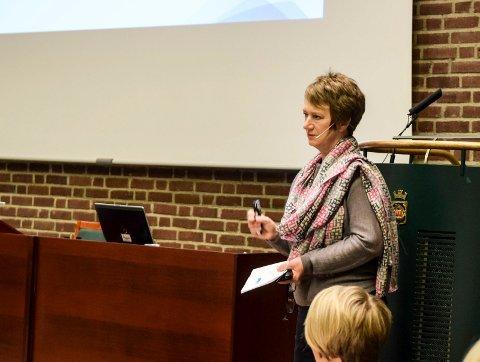 SLUTTPAKKE: Gudrun Grindaker har ifølge arbeidskontrakten rett til 15 måneders etterlønn dersom hun må fratre.