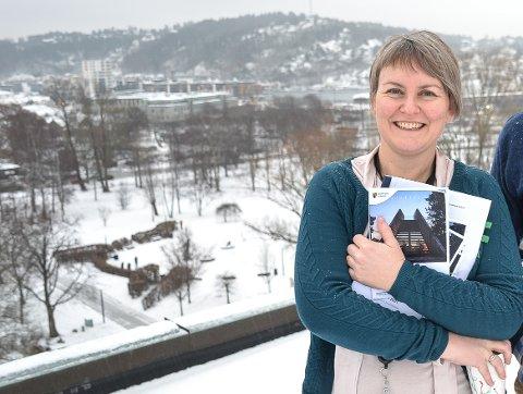 BRED ENIGHET: – Det er bred lokalpolitisk enighet om at Sandefjord skal utvides md FNs bærekraftsmål, sier kommuneplanlegger Anne Therese Anvik. Innbyggerne kan fram til 20. november komme med innspill til målene.