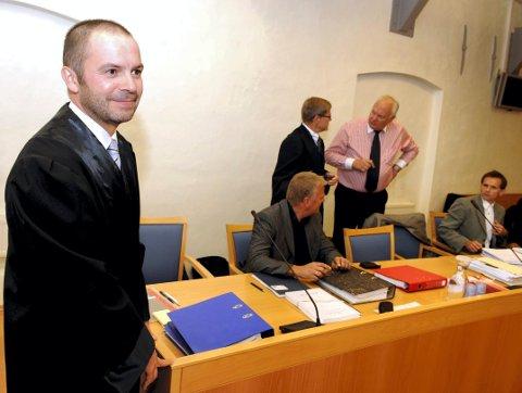 RETTSMEKLING: TIngrettsdommer Jan Arild Aaserud Pedersen, her fotografert i en annen sak fra 2010, leder forhandlingene mellom Miriam Scheis og Sandefjord kommunes advokater.