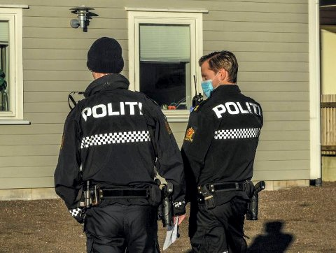 PASSER PÅ: Politiet reagerer hvis ikke de til enhver tid gjeldende korona-regler overholdes.