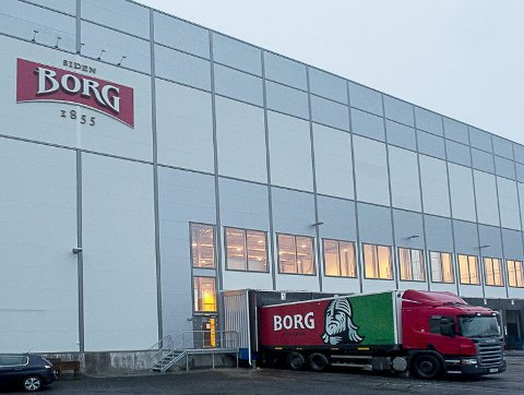 UTKJØRING AV ØL: Neste år overtar Tine enda mer av utkjøringen av øl fra bryggeriet på Kurland. Snart er det ikke biler igjen med logoen til  Borg bryggerier.