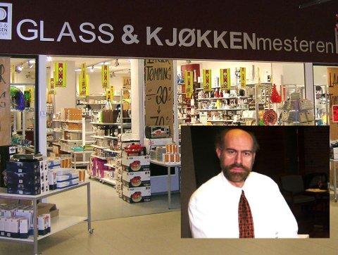 Tidligere Interiør Hangaard i Askim gikk konkurs våren 2006. Bildet av advokat Bjørn Olav Nome ble tatt i 2010.