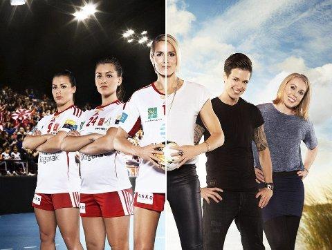 Premiereklare: Torsdag starter TV-serien «Larvikjentene» på TV3. Gro Hammerseng-Edin erkjenner at hun er spent før premieren. Foto: Promobilde fra MTG TV