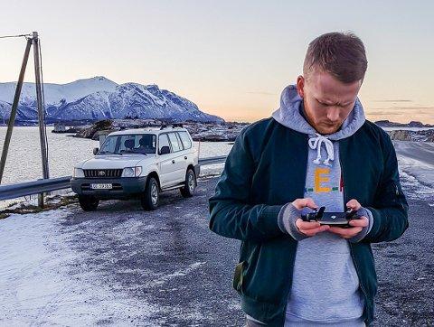 Sindre Krane Olsen kom på pallen i jakten på Norges beste på Instagram.