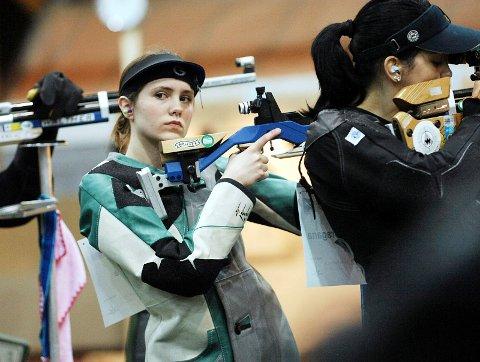 Nær OL: Marte Torvik var en av Norges beste skyttere med luftrifle. Hun toppet egen karriere med en sjetteplass i EM i 2012.