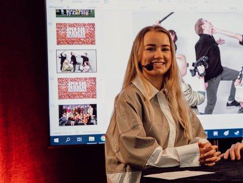 UNGE FOR UNGE: Ylva Storhaug Paalgård (20) skal framover skape mer engasjement rundt økonomi og unge.