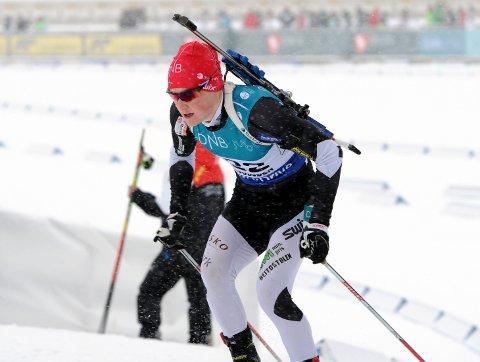 Sølvmedalje: Harald Øygard  gikk på Oppland sitt førstelag som tok sølv under årets NM i stafett.
