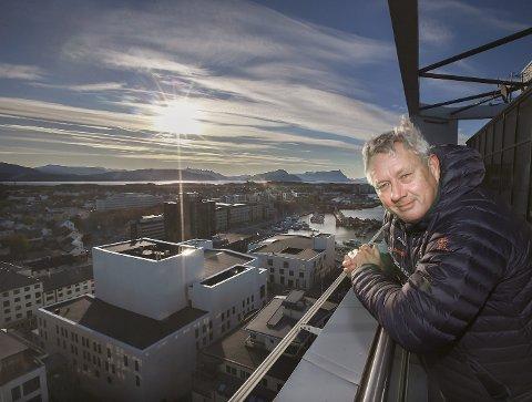 På toppen: Benn Eidissens personlige formue på drøyt 359 millioner kroner plasserer Eidissen Consult-eieren helt på toppen av listen over Bodøs rikeste.