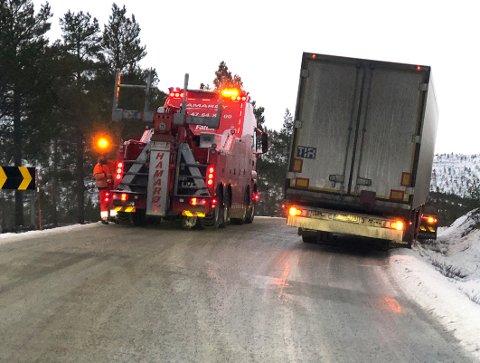 Viktig: Statens vegvesen mener det er det viktig å fortsette med tungbilkontrollene, ikke minst av preventive årsaker.