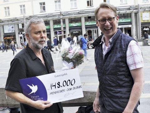 MÅNEBEDOTTEN: Trond Nordvik trodde han skulle intervjues. Så fikk han 148.000 kr til Proffen i stedet. FOTO: DAG BJØRNDAL