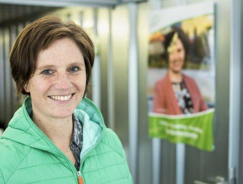 KLAR FOR TINGET: De siste fire årene har hun markert seg som en Stortingets ivrigste forsvarer av lokalsykehusene. Nå avslører 49-åringen at hun ønsker å bli helsestatsråd i en rødgrønn regjering. FOTO: EIRIK HAGESÆTER