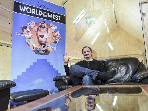 Bergensbaserte Rain Games kunne hanke inn fire spillpriser forsitt siste spill «World to the West» for to uker siden. Nå ser de fremover med et helt nytt spill i ermet. Spillgründer Peter Wingaard Meldahl er stolt over å ha klart å etablerte seg i spillbransjen.